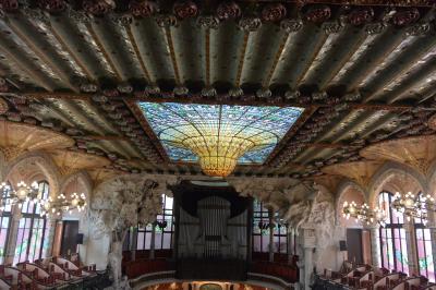 バルセロナのモデルニスモ建築を巡る!② 装飾の極み・カタルーニャ音楽堂 by ドメネク・モンタネール