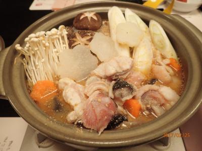 アンコウを食べに北茨城に行ってきました。ついでに梅まつり中の「偕楽園」と鰻の名店「ぬりや」にも立ち寄りました。