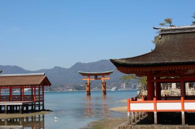 阪九フェリーで行く山陽・山陰の旅④宮島・錦帯橋
