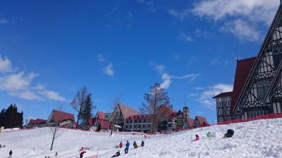 [子連れ旅] 新幹線で行く雪遊び2017@上越国際