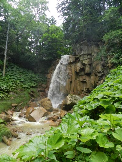 足寄町の山中にかかる『白藤の滝』◆2016初夏の爽やか北海道/湖沼と滝をめぐる旅≪その9≫