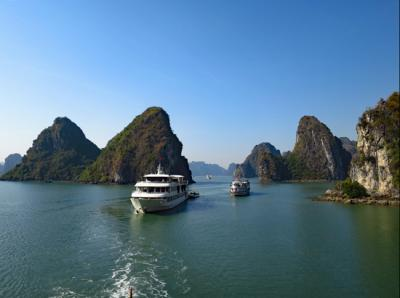 ベトナム・カンボジア旅行★ハロン湾1泊クルーズ