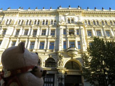 3度目のプラハをひとり旅(6)カレル大学の植物園とプラハ建築ウォッチング