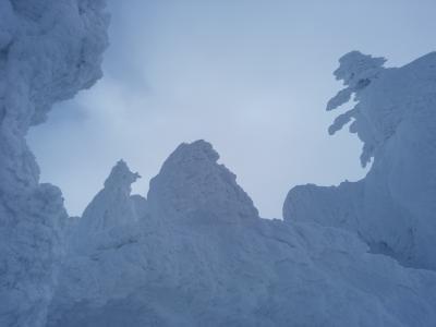 冬の山形 2日目 蔵王の樹氷は美しかった。