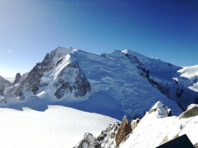 スキーをしない冬のシャモニー