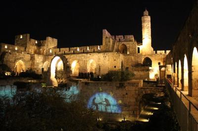 イスラエル聖地を巡る旅 5 ダビデの塔