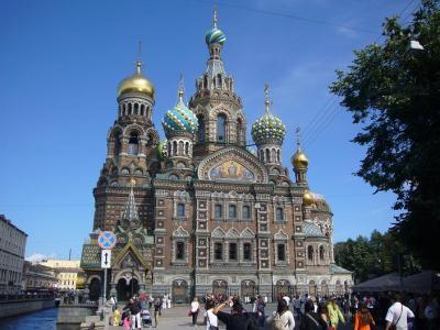 ロシア8日間の旅(2) サンクトぺテルブルグ