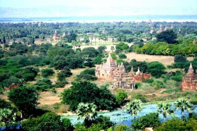 昔のままのアジアが残っている小乗仏教の国ミャンマ―(バガンを中心に)