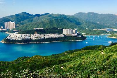 ただいま香港を旅行中!「ふたたび」③ 香港で初トレッキング!龍の背を歩く!(香港トレイル・セクション8 ドラゴンズ・バック)