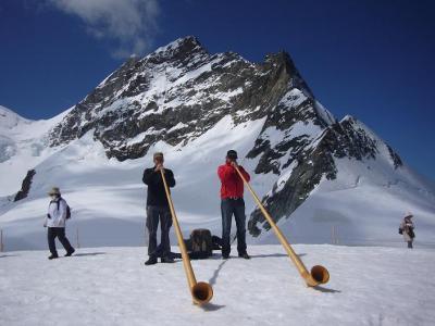 スイス8日間の旅(4) ユングフラウ