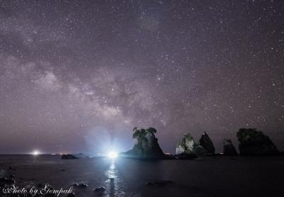 気ままな車中泊放浪撮影旅 南伊豆編(2)南伊豆の海岸で夏の天の川と日の出を撮る