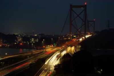 福岡県のSL (2) (行橋・苅田)と門司港の夜景・門司港駅