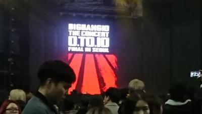 BIGBANGのコンサート