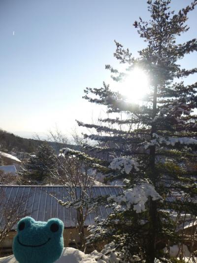 福島で雪見温泉したい! 2 大露天風呂満喫 in 高湯温泉