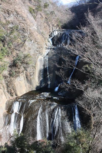 袋田の滝をみに!森林の温泉にもはいりました!