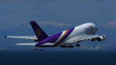 期間限定ですがタイ航空がA380でフライト中