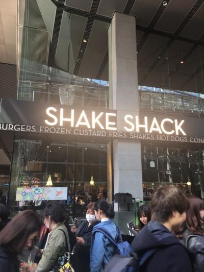 シェイクシャックのバーガーを食べに東京に  パークロイヤルホテルザ羽田に宿泊