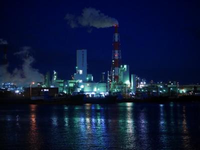 三重県四日市のB級グルメと工場萌えの旅