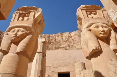 感動のエジプト!その4 王家の谷・ハトシェプスト女王葬祭殿・メムノンの巨像