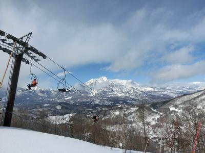 タングラム斑尾でスキー 宿泊は東急ハーヴェストクラブ斑尾です。 その2 スキーを満喫!
