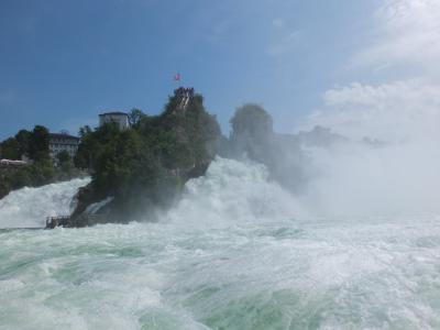 スイス旅行⑦ラインの滝を感じに