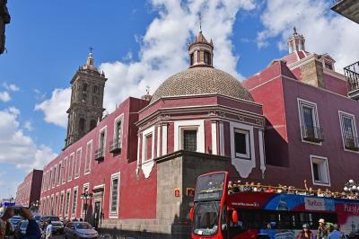 冬のメキシコ旅行(4)-【世】プエブラ歴史地区-