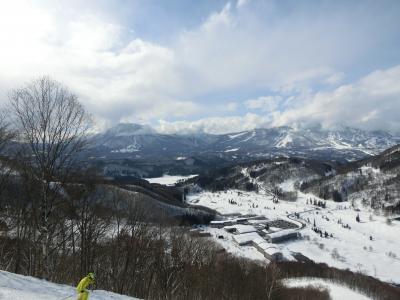 タングラム斑尾でスキー 宿泊は東急ハーヴェストクラブ斑尾です。 その3  天候回復