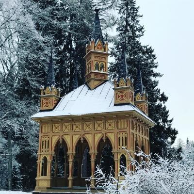 2017.01-02・冬のバルト三国&フィンランド13日間の旅【11】~迷子になりそうになった一面銀世界のアウランコ公園~