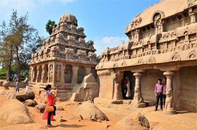 インド‐チェンナイに行ってみた 世界遺産「マハーバリプラム寺院」までローカルバスでプチトリップ オッサンネコの一人旅