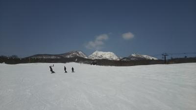 今シーズンの滑り納めは妙高高原で