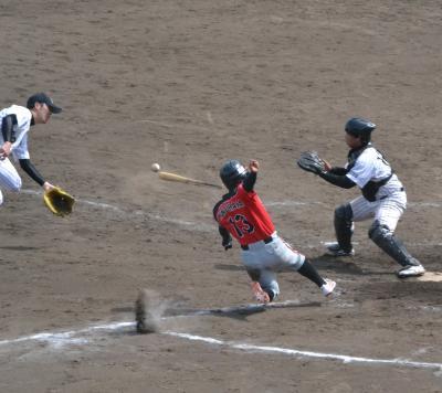【2017春季神奈川大会】社会人野球は34サーティーフォー保土ヶ谷球場で。クラブチーム同士の戦い。