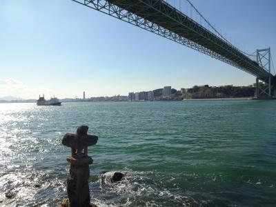 関門海峡を見おろして ~ちょっぴり古代とりっぷ
