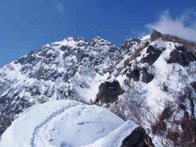 積雪期甲斐駒ヶ岳 / 二年越しで日帰り達成