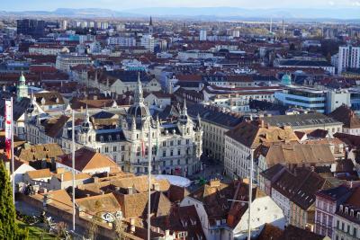 オーストリア第2の都市グラーツ