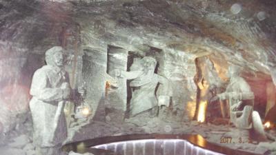 岩塩鉱ヴィエリチカ見学~ポーランド