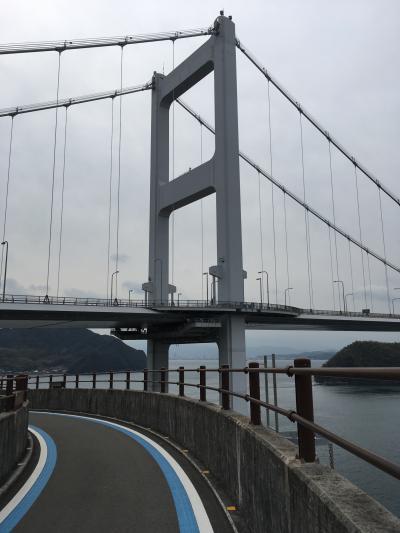ママチャリで行く(笑)しまなみ海道□前編 小倉~今治・来島海峡大橋と大島