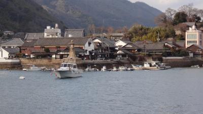 鞆の浦を歩く□17年3月~江戸時代の国際都市、鞆の古い町並みと漁港