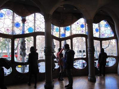 4連休でバルセロナ一人旅⑤ ~3日目後半 ガウディ建築と帰国~