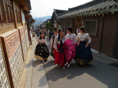 ANAマイル特典航空券で娘と二人、初めての韓国ソウル旅、目一杯楽しみました 2-1