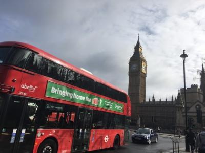 2度目のロンドン!【その1】ロンドン街歩き