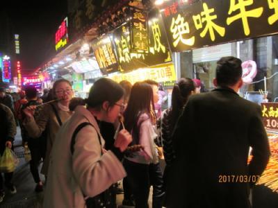 武漢の戸部巷・夜市