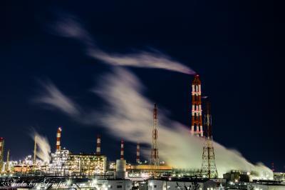 気ままな車中泊放浪撮影旅 房総編(3) 鹿島臨海工業地帯の工場夜景