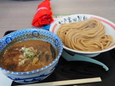 木更津アウトレットの富田製麺のつけ麺