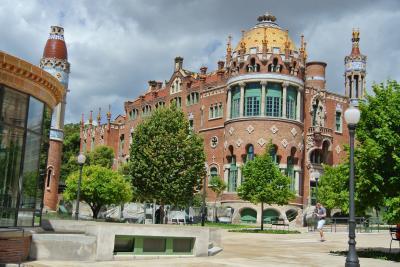 バルセロナのモデルニスモ建築を巡る!③ サン・パウ病院 by モンタネール