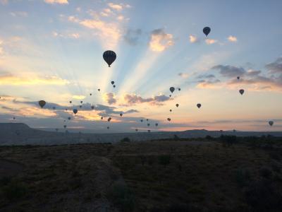 カッパドキアの熱気球ツアー