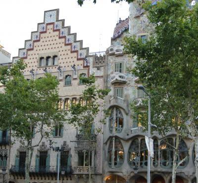 バルセロナモデルニスモ建築を巡る!④ カサ・アマトリエール by プッチ