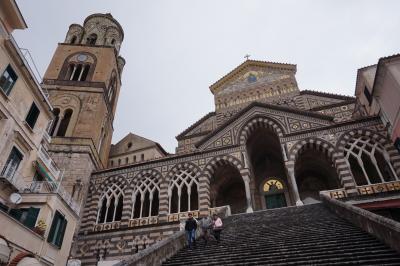 南イタリア・シチリア島を巡る---アマルフィ