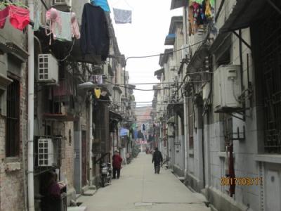武漢の同興里(集合住宅)・歴史建築・露国租界