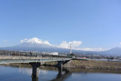 自転車でGO! 2017.03.16 富士山を見ながら市内をウロウロ…