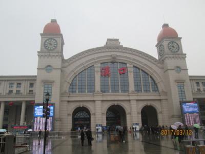 武漢の漢口駅・旧大智門駅を復刻